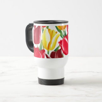 Spring Tulips Easter Gift Mugs