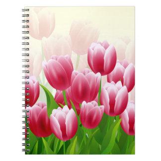 Spring Tulips Easter Gift Notebooks