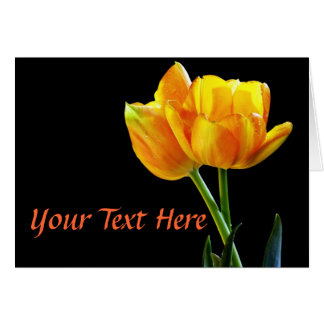 Spring Tulips Elegant Note Cards