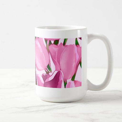 Spring Tulips. Mother's Day Gift Mug