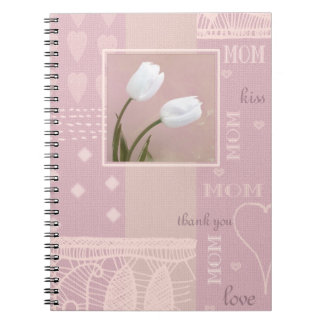 Spring Tulips Mother's Day Gift Notebooks