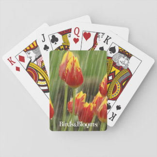 Spring Tulips Playing Cards