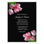 Spring Tulips Wedding Invitation