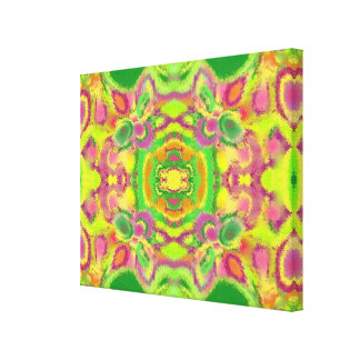 Spring Twist Quad Canvas Print