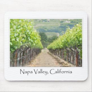 Spring Vineyard in Napa Valley California Mouse Pad