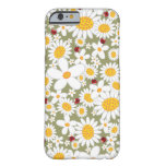 Spring White Daisies Ladybugs iPhone 6 case Barely There iPhone 6 Case
