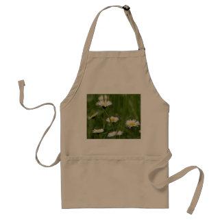 Spring Wild Daisies Adult Apron