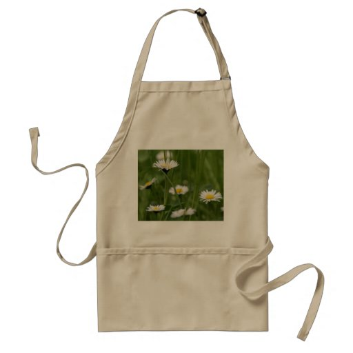 Spring Wild Daisies Apron
