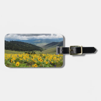 Spring Wildflowers In The Hills Luggage Tag