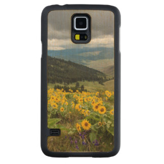 Spring Wildflowers In The Hills Maple Galaxy S5 Case