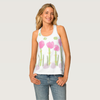 Spring Women's All-Over Print Racerback Tank Top