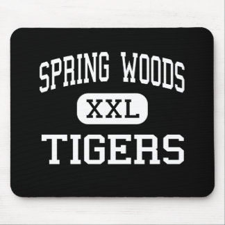 Spring Woods - Tigers - High - Houston Texas Mouse Pad