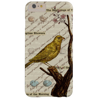 Spring Yellow Bird Eggs Flowering Tree Barely There iPhone 6 Plus Case