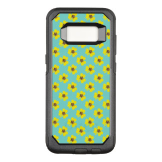 Spring yellow clover and light blue background OtterBox commuter samsung galaxy s8 case