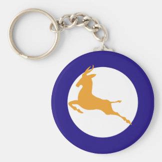 Springbok Basic Round Button Key Ring