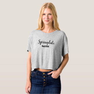 Springdale Native Cropped T-shirt