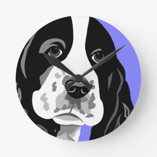 Springer Spaniel Art Clocks