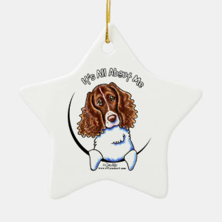 Springer Spaniel IAAM Christmas Ornament