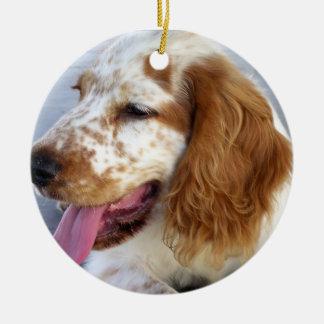 Springer Spaniel Puppy Ornament