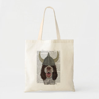 Springer Spaniel Viking Tote Bag
