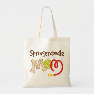 Springerdoodle Dog Breed Mom Gift Tote Bag