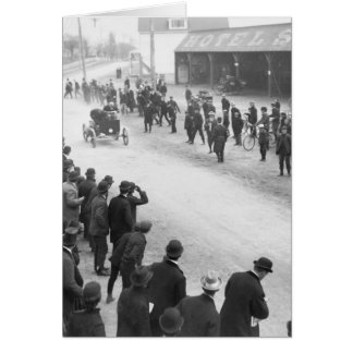 Springfield Auto Race: 1900 Cards