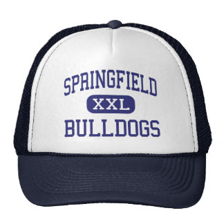 Springfield Bulldogs Middle Springfield Trucker Hat