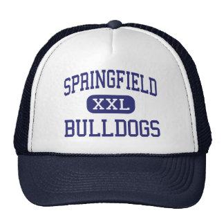 Springfield Bulldogs Middle Springfield Mesh Hats