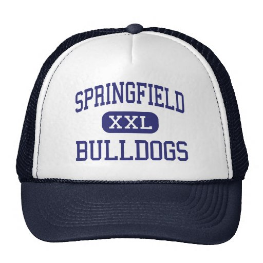 Springfield Bulldogs Middle Springfield Mesh Hats