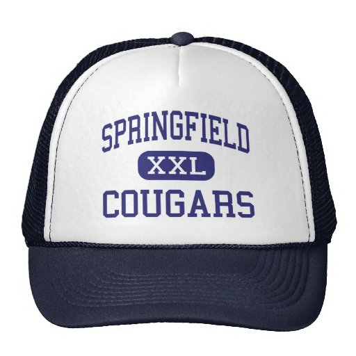 Springfield - Cougars - High - Springfield Trucker Hat