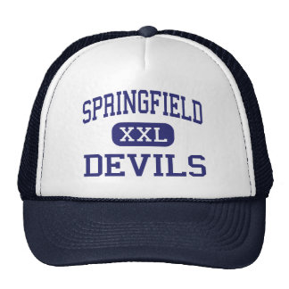 Springfield Devils Middle Holland Ohio Mesh Hat