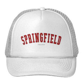 Springfield Mesh Hat