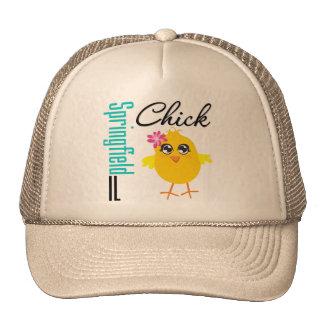 Springfield IL Chick Mesh Hat