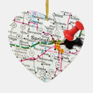 Springfield, Illinois Christmas Ornament
