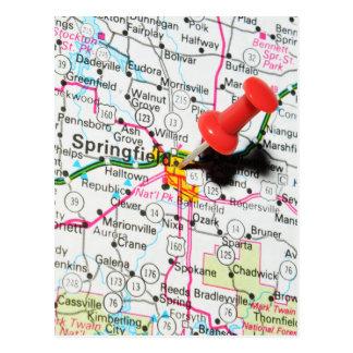 Springfield, Illinois Postcard