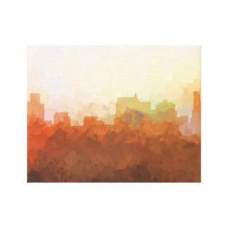 SPRINGFIELD, ILLINOIS SKYLINE-In the Clouds Canvas Canvas Print
