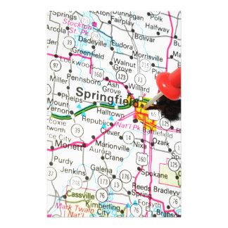 Springfield, Illinois Stationery