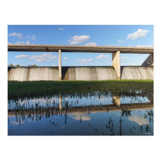 Springfield Lake Missouri Dam Postcard