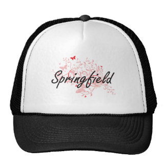 Springfield Massachusetts City Artistic design wit Cap