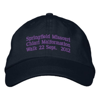 Springfield Missouri 2012 Embroidered Hat
