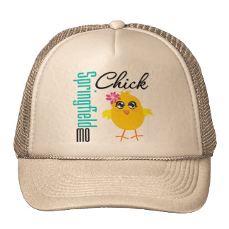 Springfield MO Chick Trucker Hat