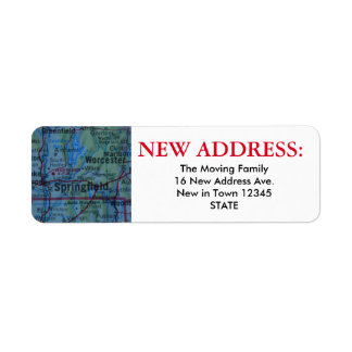 Springfield New Address Label
