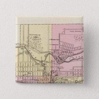 Springfield, Ohio 15 Cm Square Badge