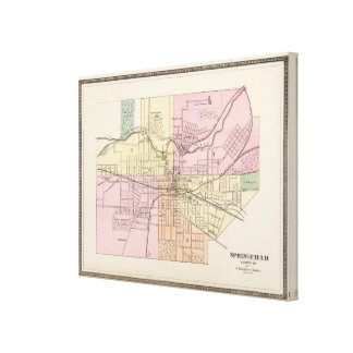 Springfield, Ohio Canvas Print