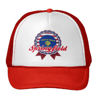 Springfield, OR Mesh Hat