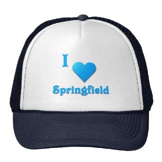 Springfield -- Sky Blue Trucker Hat