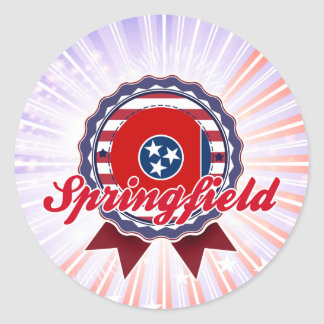 Springfield, TN Sticker