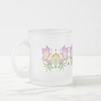 SpringingBoho Frosted Glass Coffee Mug
