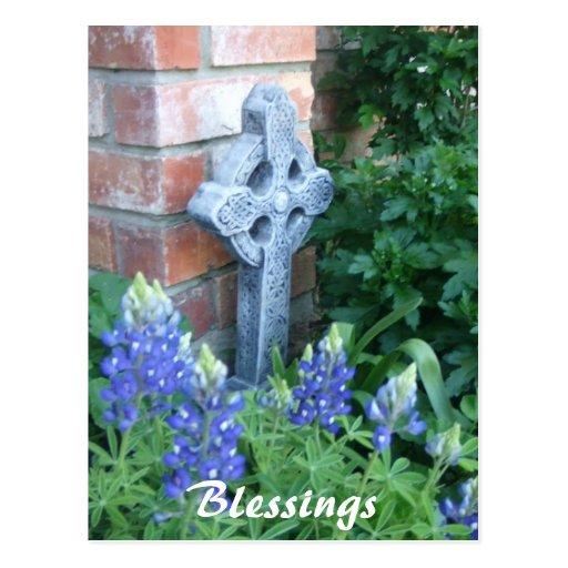 springpics 023, Blessings Post Card