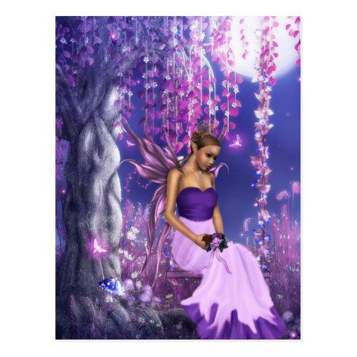 Spring's Fairy Bride Post Card